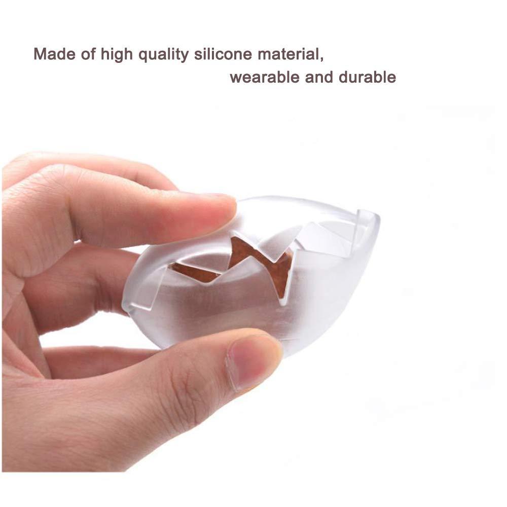 24 Protectores para Patas de Silla Protector de Suelo de Madera de Silicona Transparente Patas de Mesa JWShang para Evitar ara/ñazos para Patas de Muebles
