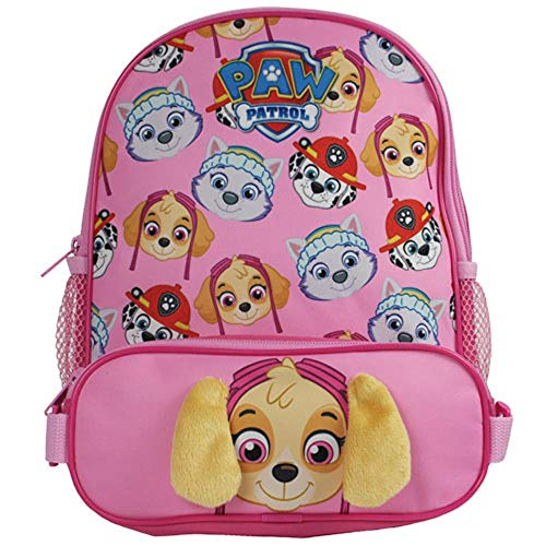 (Paw Patrol Girls Skye School Bag Rucksack Backpack)