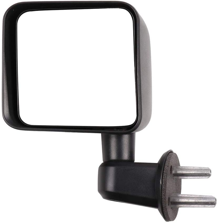 Driver Side LH Jeep Wrangler JK 2007-2016 Manual Door Mirror