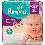 Pampers Active Fit - Pañales, talla 3, 204 unidades