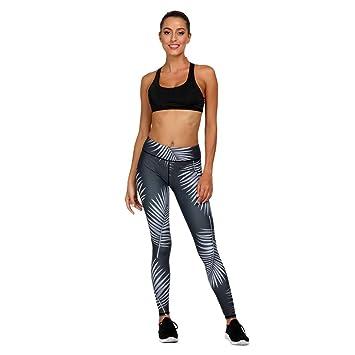Amazon.com: Zcxaa Fashion Yoga Pants Women Leggings Floral ...