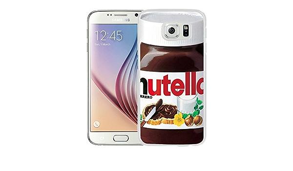 nutella White Samsung Galaxy S6 Screen Cover Case Genuine Design ...