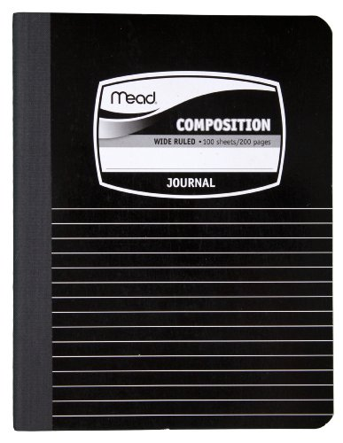 100 Sheet Amp - Mead Composition Book/Notebook, Wide Ruled Paper, 100 Sheets, 9-3/4