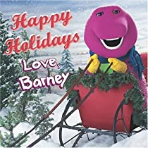 Happy Holidays Love Barney