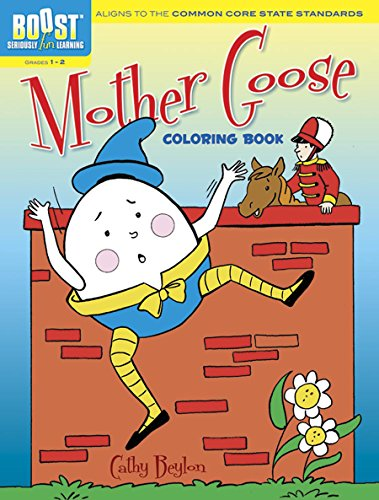 (BOOST Mother Goose Coloring Book (BOOST Educational Series))