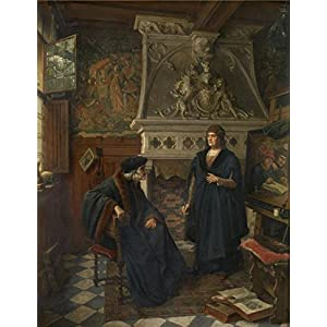 Oil Painting 'Siberdt Eugene,Erasmus And Quentin Matsys,1851-1931', 12 x 16 inch / 30 x 40 cm , on High Definition HD canvas prints is for Gifts And Bar, Bath Room And Bed Room Decoration