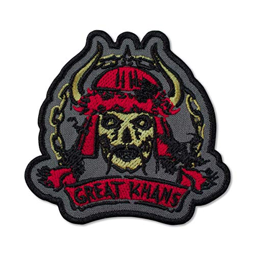 Fallout New Vegas Great Khans Gang Emblem Embroidered Patch Iron On (3.5