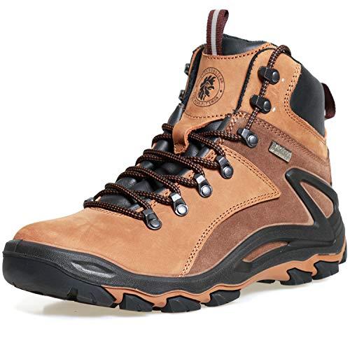 ROCKROOSTER Mens Hiking Boots, Waterproof 6