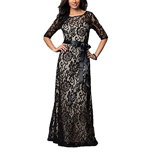 AbaoWedding-Womens-Lace-Half-Sleeves-Long-Mother-of-The-Bride-Dress-Evening-Dress
