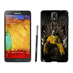 Attractive Case Breaking Bad 37 Black Phone Case for Samsung Galaxy Note 3
