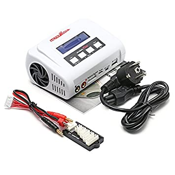 RCTecnic Cargador de Batería LiPo 1-6S, NiMh 1-15S, Fuente ...