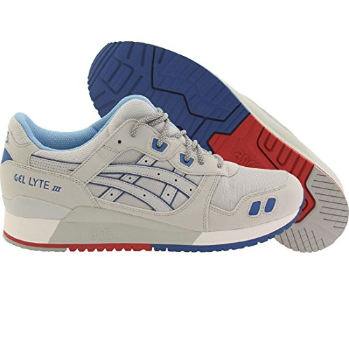 ASICS GEL Lyte III Retro Running Shoe, Soft Grey/Soft Grey, 9 M US - 3 Plus Womens Running Shoes