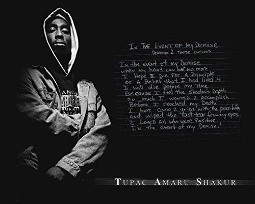 Tupac Shakur 2Pac Hip Hop R B Music Star Fabric Cloth Rolled Wall Poster Print    Size   28  X 24    16  X 13