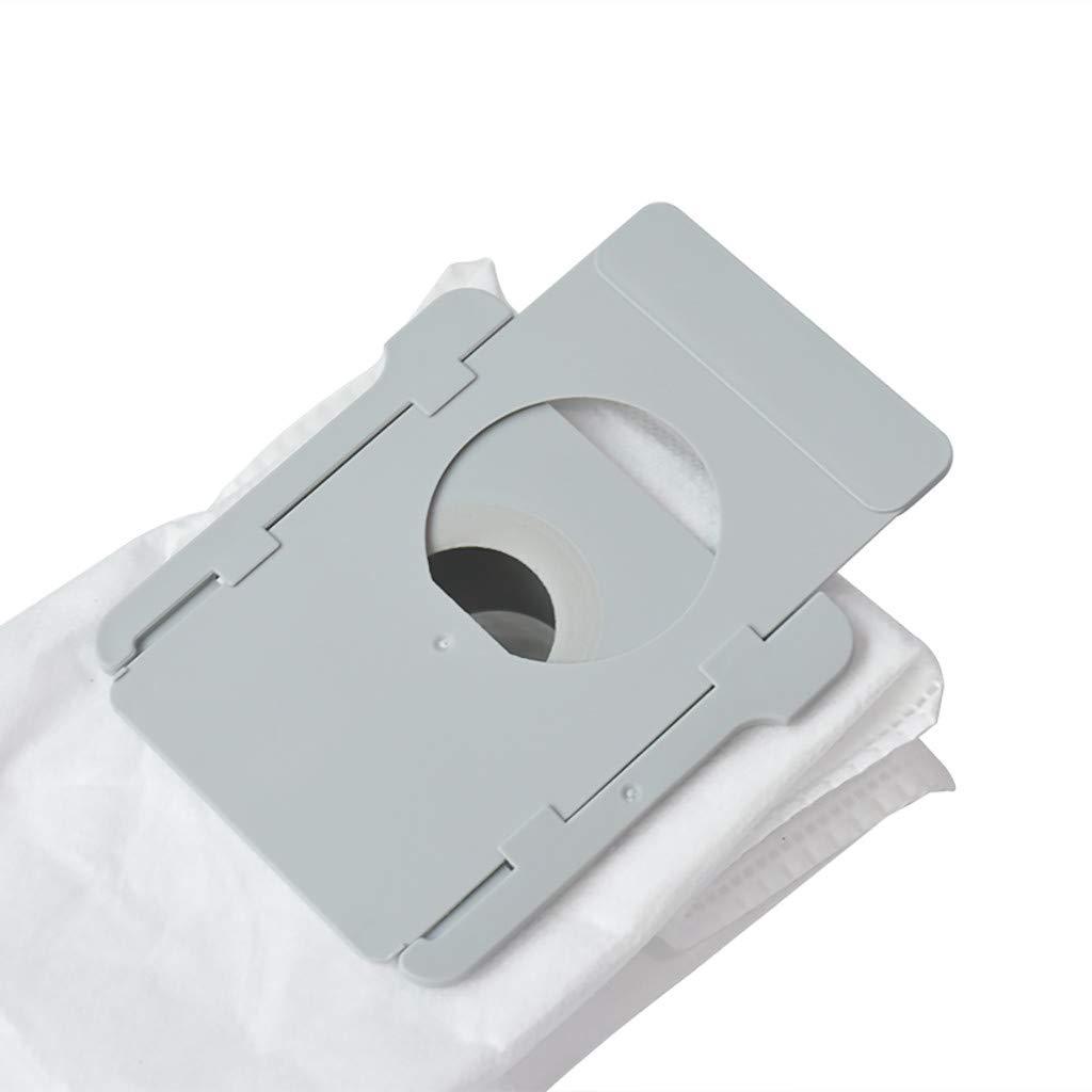 ZZXIAN IRobot Roomba i7 i7+ bianca i7 Plus E5 E6 E7 Accessori set 4 pezzi Per Aspirapolvere Pacchi Ricambio Per Il Elaborazione Dello Sporco Per Pulizia Della Base Robot Automatico Sacchetto