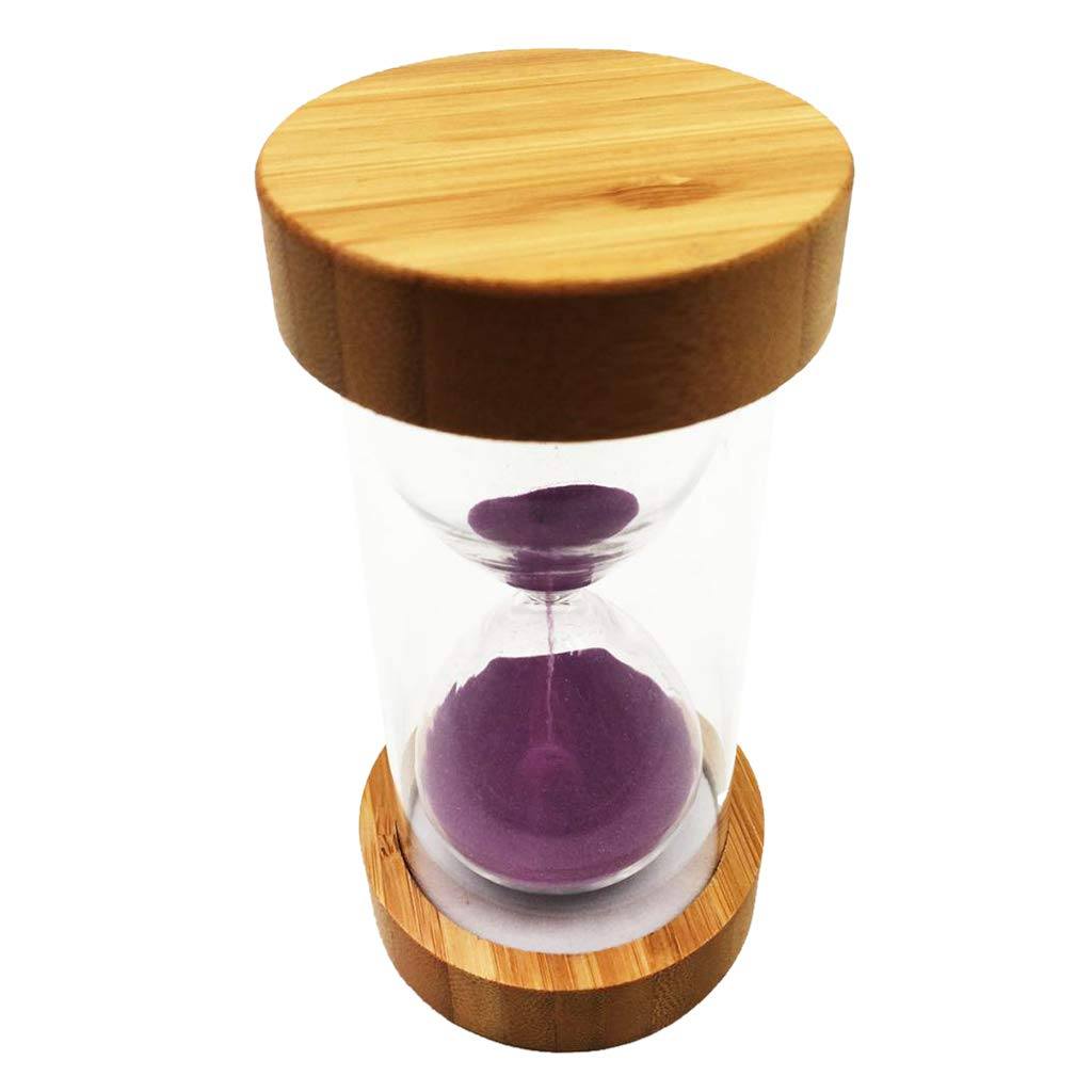 Fityle Sand Timer Hourglass Children Game Timing Tool Kitchen Clock 1/25 Min - 1 Minute