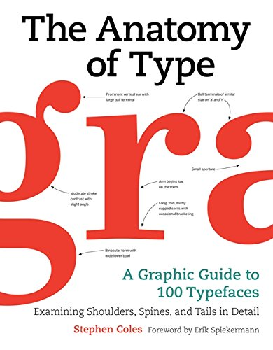 The Anatomy Of Type A Graphic Guide To 100 Typefaces Stephen Coles
