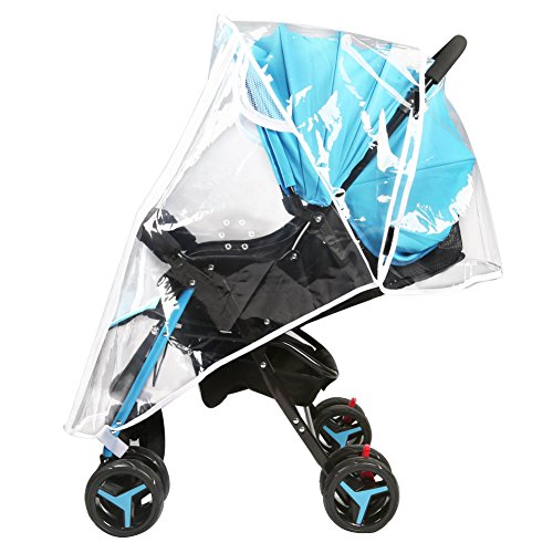 Accmor Universal Baby Stroller Rain Cover, Stroller Weather Shield, Waterproof, Water Resistant, Windproof, See Thru, Ventilation, Food Grade Material by accmor (Image #1)