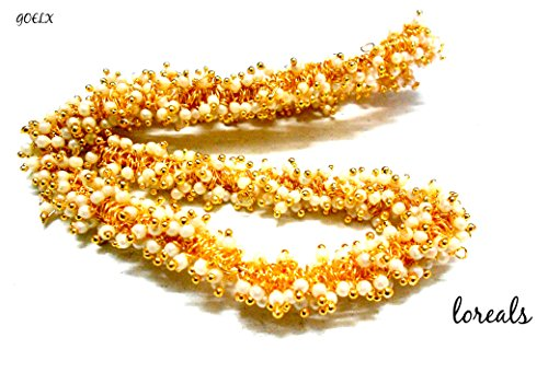 Pearl loreals for designer jhumki and necklace making
