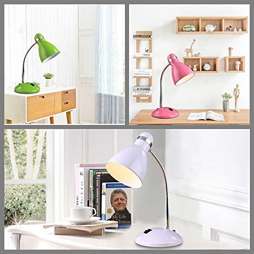 Lámparas de mesa minimalistas modernas de hierro forjado luces de ...