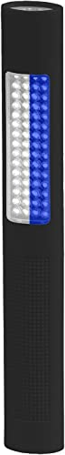 Nightstick NSP-1178 LED Safety Light Flashlight – White Blue Floodlight