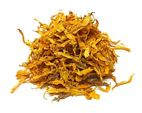 100% Natural dried German Sunflower Petals - Perfect addition to salads, snacks or smoothie bowls. Organic Sunflower Petals for soaps, candles, potpourri and dyes.