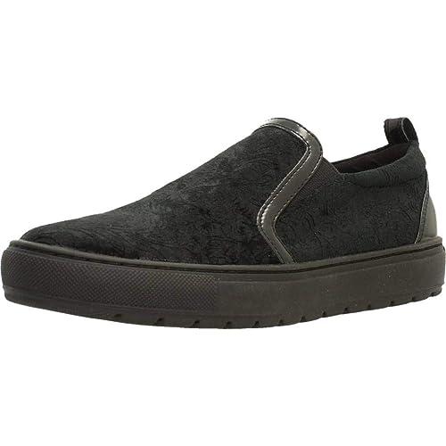 Calzado Deportivo para Mujer, Color Negro, Marca GEOX, Modelo Calzado Deportivo para Mujer GEOX D BREEDA Negro: Amazon.es: Zapatos y complementos