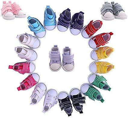 Henreal 1 Paar Puppenschuhe Toy Mini Doll Shoes f/ür Sharon Dolls Stiefel Zubeh/ör 118