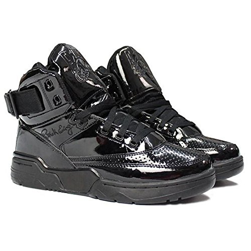 PATRICK EWING Athletics 33 Hi x Privilege Triple Black Patent Leather 1EW90217-001