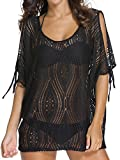 Angerella Women Sexy Beachwear Swimsuit Summer Crochet Lace Cover-Up (COP005-B1E)