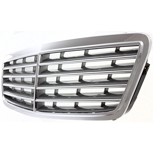 Diften 104-C2102-X01 - New Grille Grill Mercedes C Class Sedan Mercedes-Benz C230 C240 C320 MB1200133 (2006 Mercedes Benz C230 Sedan)