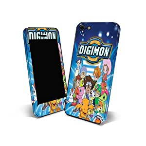 Skin Sticker 3m Cover Phone for Samsung Galaxy Ace2 Protection Skin Design Digimon Cartoon NDGM02