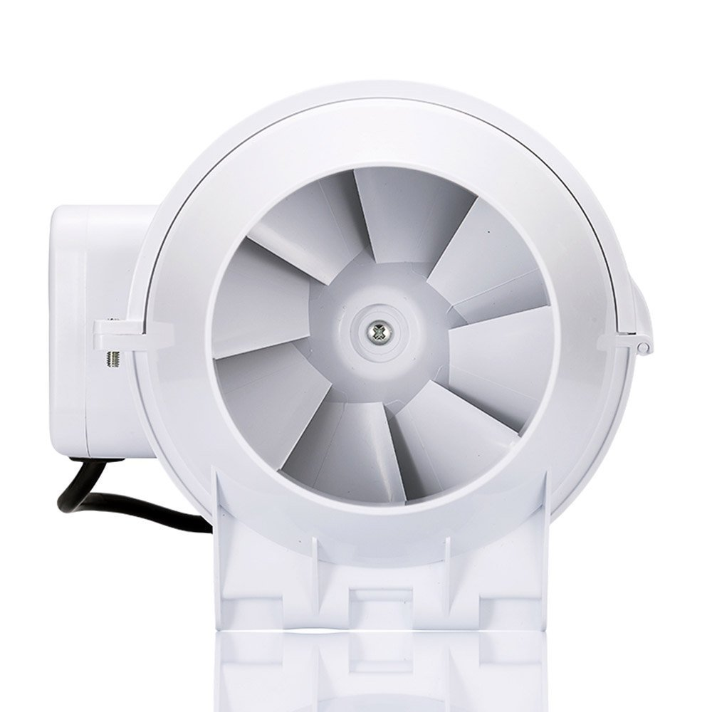 Honguan 4 Inch Extractor Fan High Efficiency Mixed Flow Ventilation Night Light Bathroom Wiring Diagram Free Download System Exhaust Air For Kitchen Inline Duct S Series