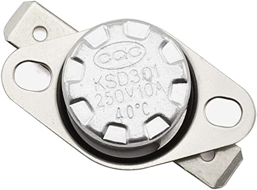 Temperature Switch Normally Open. 10x KSD301 NO 55°C Thermostat