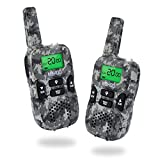 Kids Walkie Talkies 22 Channels 3 Miles FRS/GMRS Hand Held Walkie Talkie for Kids Toys for 4-5 year old boys