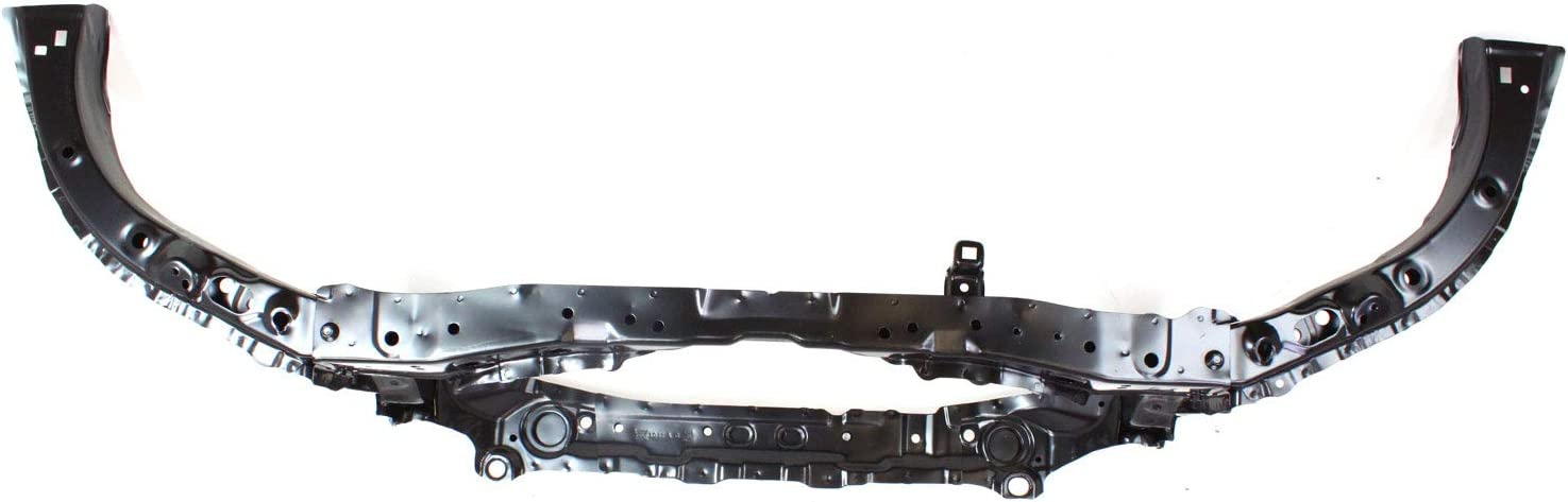 Radiator Support Assembly Compatible with 2006-2011 Honda Civic Black Steel Coupe//Sedan