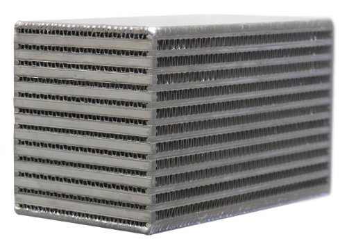 Bell Liquid-to-Air Intercooler Core, 6' D x 3.3' H x 6' W 6 D x 3.3 H x 6 W Bell Intercoolers