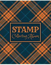 Stamp Collecting Album: Stamp Collecting Album to Collect Your All Favorite Stamp or Currencies | Stamp Album for Kids and Adults, Men and Women | ... With Country and Notes | Cream Paper