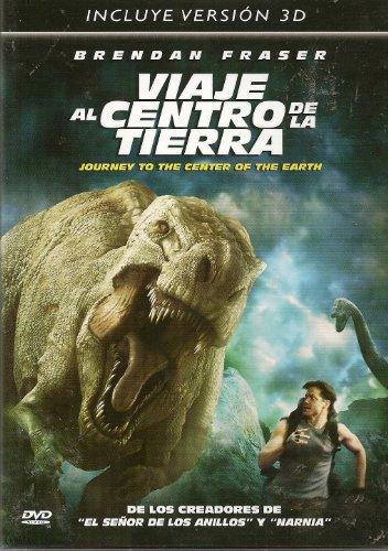Set 2 Disc: Journey To The Center Of The Earth (2D & 3D) Includes: 2 3D Glasses (Viaje al Centro de la Tierra) [*Ntsc/region 1 & 4 Dvd. Import-latin America]