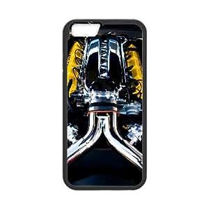 Dodge iPhone 6 Plus 5.5 Inch Cell Phone Case Black Decoration pjz003-3741528