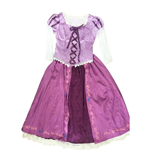 STARKMA Princess Tangled Rapunzel Costume Women Adult Cosplay Dress (Small) -