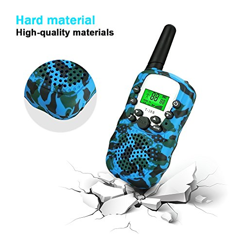 DIMY Toys for 4-5 Year Old Boys, Outdoor Toys Stocking Fillers Walkie Talkies for Kids Fun Xmas Toys for 3-12 Year Old Boys Girls Brithday Christmas Hot Gifts for 3-12 Year Old Boys Blue DMDJJ02