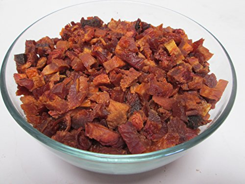 Sun Dried California Diced Peaches, No Added Sugar, 1 LB bag (Sun Dried Fruits)