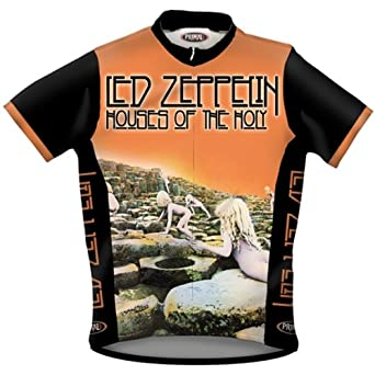 Amazon.com  Old Glory Led Zeppelin - Mens Houses Cycling Jersey ... dcb66585c