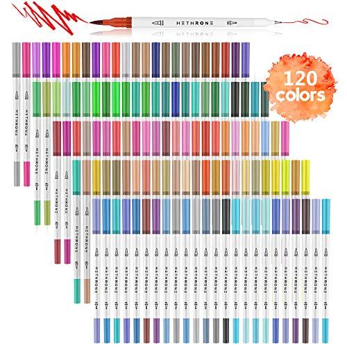 120 Colors Dual Tip