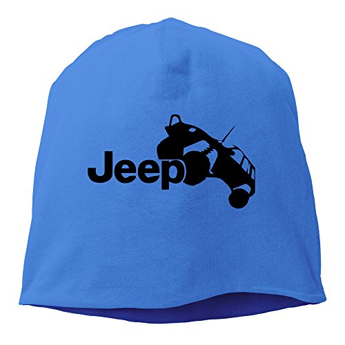 LKSJSADJ Unisex Jeep Drove Jeep Beanie RoyalBlue Cap