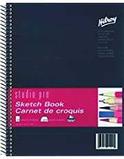 Hilroy Studio Pro Sketchbook, 8-1/2 X 11 Inches, 50 Pound Acid Free Paper, 100 Sheets (41520)