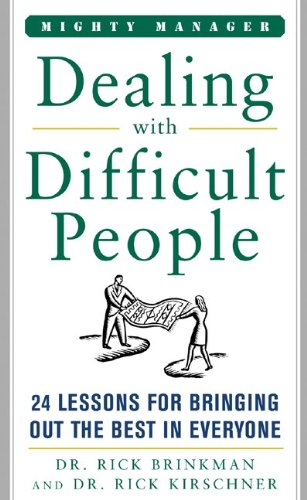 Dealing With Difficult People pdf epub