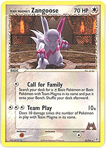 (Pokemon - Team Magma's Zangoose (23) - EX Team Magma vs Team Aqua)