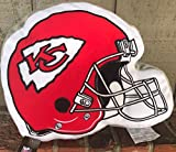 Kansas City Chiefs Helmet Pillow 15 by 12 inches New