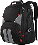 17 Inch Laptop Backpack,Extra Large Durable TSA Friendly Computer Backpack for Men Women,Waterproof...